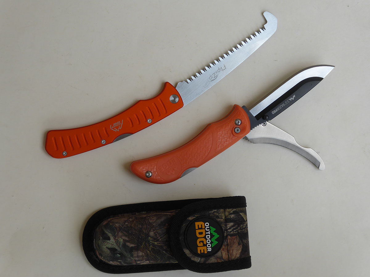 Outdoor Edge saw and knive combo